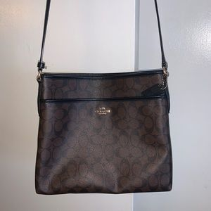 Coach File Signature Brown bag